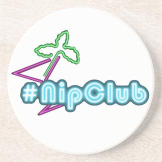 Nipclub drink coasters