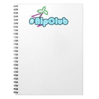 Nipclub Logo Add Your Pet Notebook