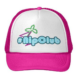 Nipclub Sports Cap - Hat in Hot Pink