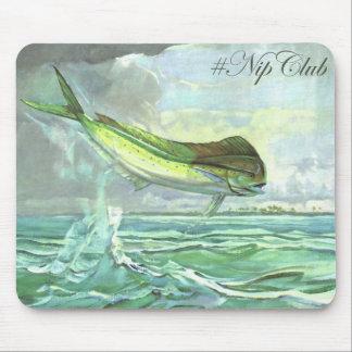 Nipclub Vintage Mahi-Mahi Dolphin Fish mousepad