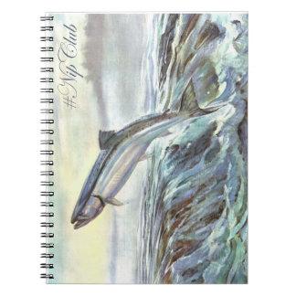 Nipclub Vintage Steelhead Salmon Notebook