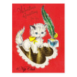 Nipclub Vintage Valentine's Dat postcard White Kit