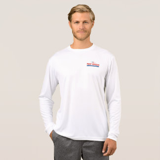 Nipigon with Flag- Mens left chest T-Shirt