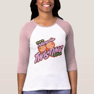 Nipple Twisting Action T-Shirt