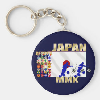 Nippon Japan 32 Countries soccer football gifts Keychain