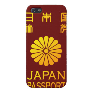 Nippon passport case for iPhone SE/5/5s