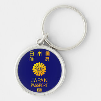 Nippon passport keychain