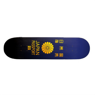 Nippon passport skateboard deck