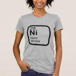 Níquel - diseño de la ciencia de la tabla periódic camiseta