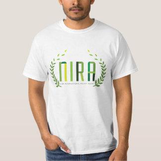 NIRA (agencia de ayuda humanitaria internacional) Camisas