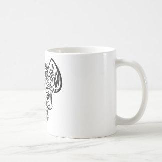 Nire's Hyena Tribal Design Coffee Mug