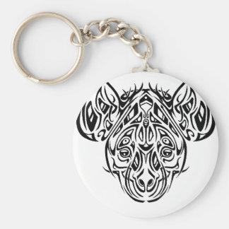 Nire's Hyena Tribal Design Keychains