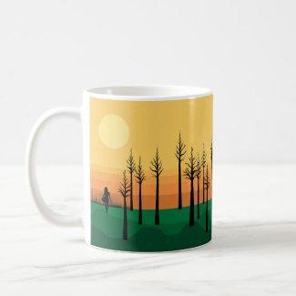 Nirrin Sunset Forest Mug