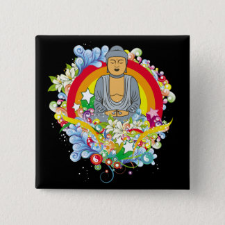 Nirvana Buddha Button
