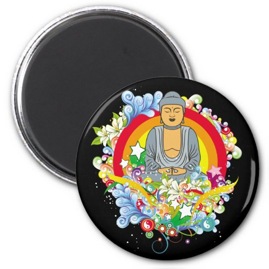 Nirvana Buddha Magnet