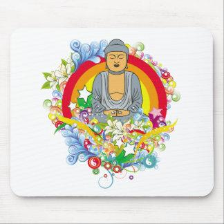 Nirvana Buddha Mouse Pad