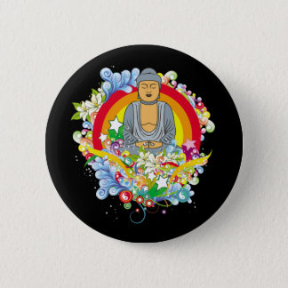 Nirvana Buddha Pinback Button