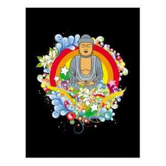Nirvana Buddha Post Card