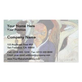 Nirvana de Paul Gauguin-, retrato de Jacob de Haan Plantillas De Tarjetas Personales