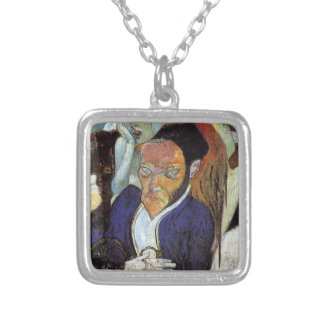 Nirvana, Portrait of Jacob Meyer de Haan by Paul Silver Plated Necklace