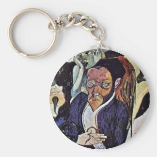 Nirvana Portrait Of Meyer De Haan By Gauguin Paul Keychains