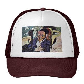 Nirvana Portrait Of Meyer De Haan By Gauguin Paul Trucker Hat