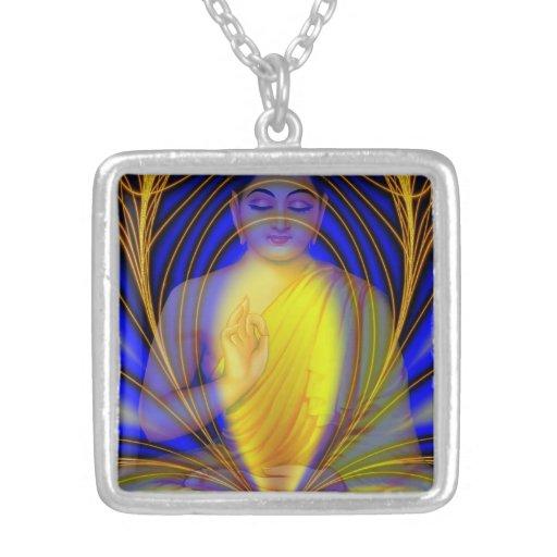 Nirvana Square Pendant Necklace