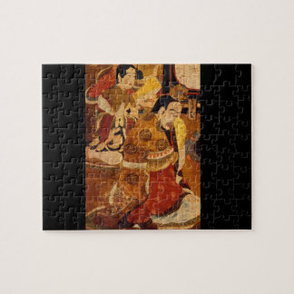 Nirvana, the Death of the Buddha_The Orient Jigsaw Puzzle