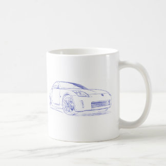 Nis 350Z Sketch Coffee Mug