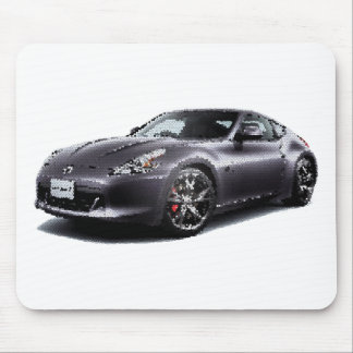 Nis 370Z coupe cracked Mouse Pad