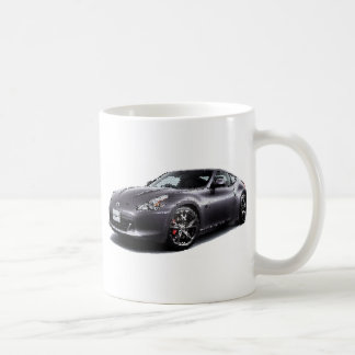 Nis 370Z coupe cracked Classic White Coffee Mug