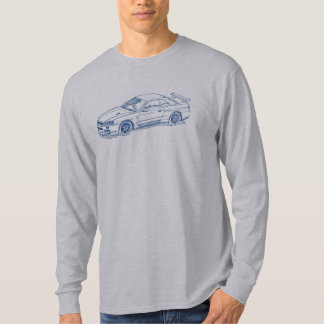 Nis Skyline GTR R34 2000 sketch T-Shirt