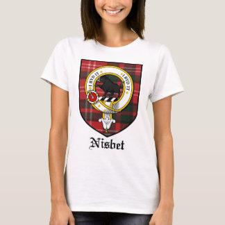 Nisbet Clan Crest Badge Tartan T-Shirt