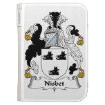 Nisbet Family Crest Kindle Case