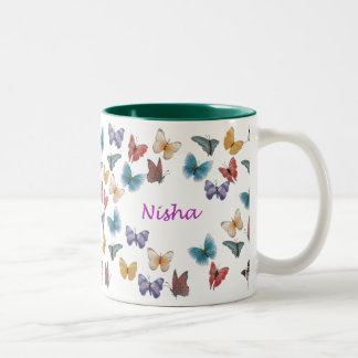 Nisha Two-Tone Coffee Mug