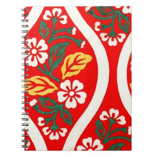 Nishiki Brocade with Cherry Blossoms 1825 Spiral Notebooks
