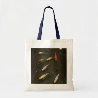 Nishikigoi (Koi Fish) Tote Bag