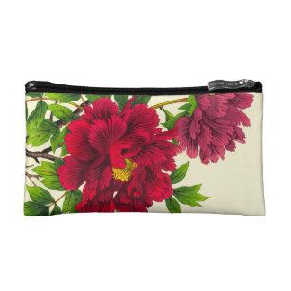 Nishimura Hodo Peony japanese flowers fine art Cosmetic Bag