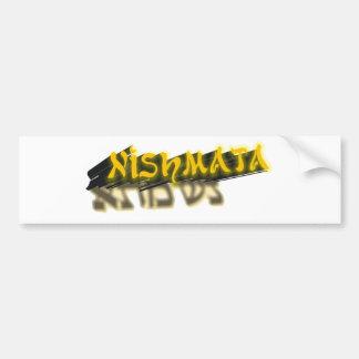 Nishmata Car Bumper Sticker
