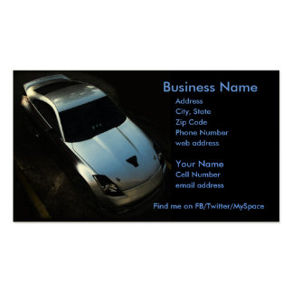 Nismo 350Z Business Card Template