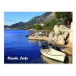 Nissaki, Corfu Postcard