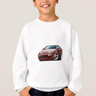 Nissan 300ZX Maroon Car Sweatshirt