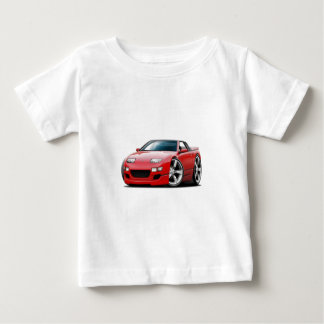 Nissan 300ZX Red Convertible Infant T-shirt