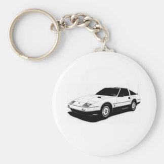 Nissan 300ZX Turbo Llavero Redondo Tipo Pin
