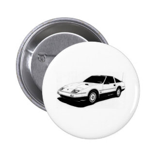 Nissan 300ZX Turbo Pinback Button