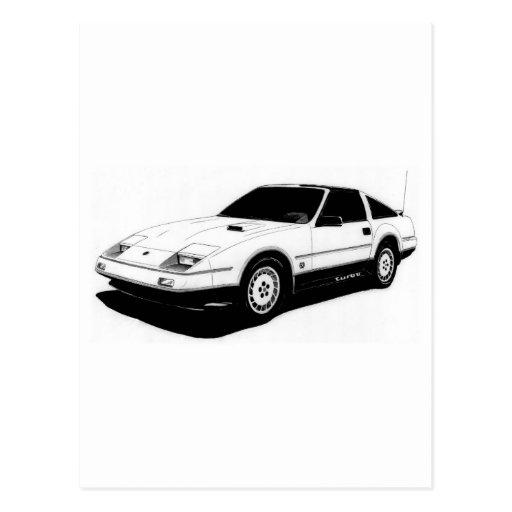Nissan 300ZX Turbo Postcard