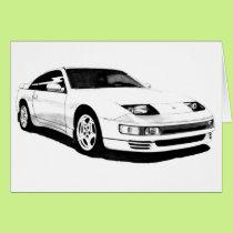 Nissan 300ZX Twin Turbo Card