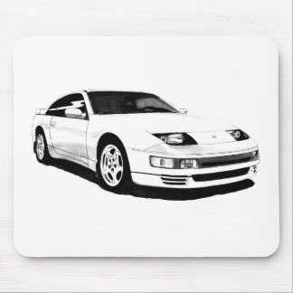 Nissan 300ZX Twin Turbo Mouse Pad