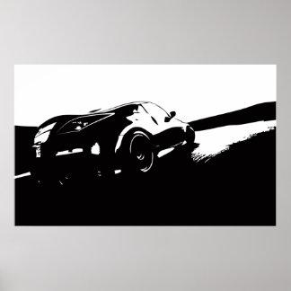 Nissan 350z poster