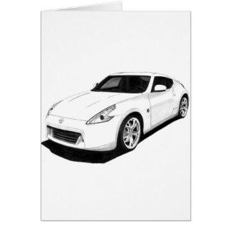 Nissan 370Z Artwork Card